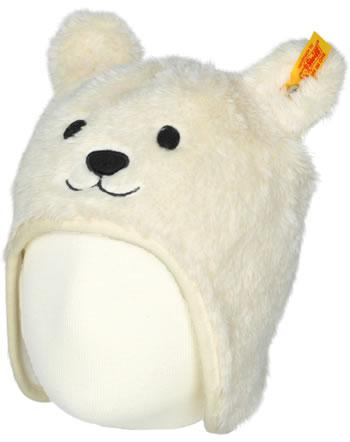Steiff Bonnet avec des oreilles d'ours WILDBERRY cloud dancer 1921401-1001