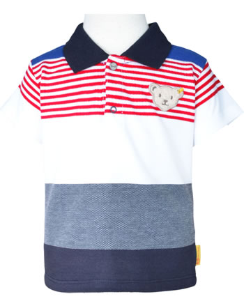 Steiff Polo-Shirt Kurzarm FISH AND SHIP Baby Boys steiff navy 2112319-3032