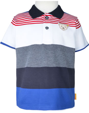 Steiff Polo-Shirt Kurzarm FISH AND SHIP Mini Boys steiff navy 2112116-3032