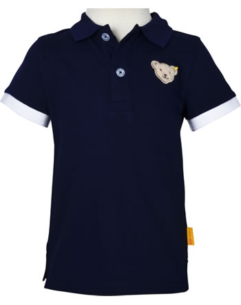 Steiff Polo-Shirt Kurzarm HELLO SUMMER Mini Boys steiff navy 2113110-3032