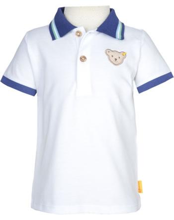 Steiff Polo-Shirt short sleeve HIGH FIVE Mini Boys bright white 2111109-1000