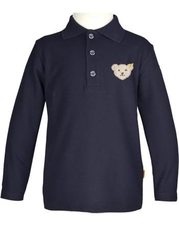 Steiff Polo-Shirt Langarm BASIC steiff navy 0021106-3032