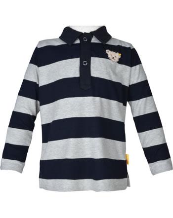 Steiff shirt à manches longues BEAR TO SCHOOL soft grey melange 2021104-9007