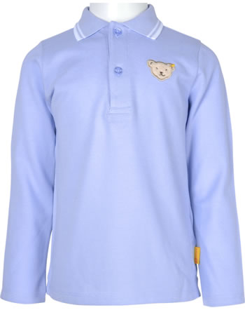 Steiff Poloshirt Langarm SPECIAL DAY Mini Boys kentucky blue 2124107-6020