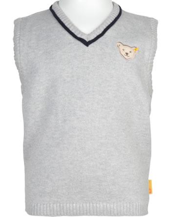 Steiff Pullunder SPECIAL DAY Mini Boys soft grey melange 2124102-9007