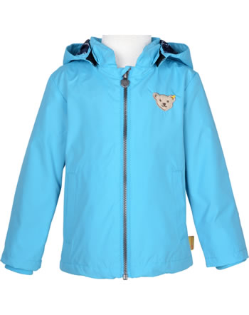 Steiff Rain Jacket Bionic Finish SAFARI BEAR blue atoll 2013324-6041