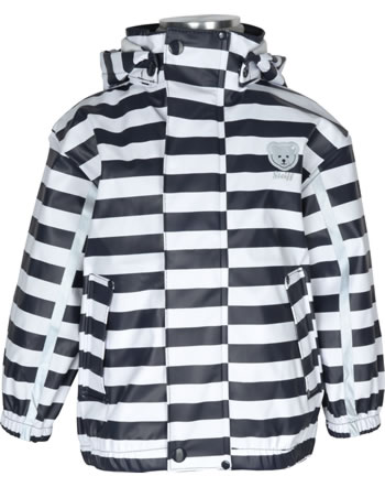 Steiff Rain Jacket striped BASIC Mix & Match black iris 000020506-3032