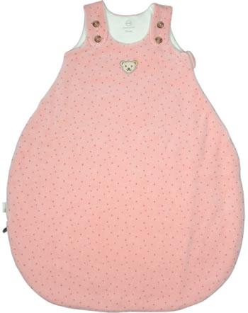 Steiff Schlafsack ORGANIC JUST DOTS Baby silver pink 2122510-3015