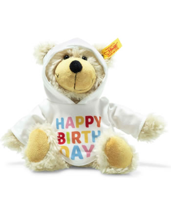 Steiff Schlenkerteddy Charly 23 cm beige Happy Birthday 012310