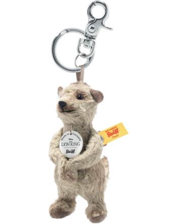 Steiff Schlüsselanhänger Disney König der Löwen Timon 10 cm dunkelbeige 355769