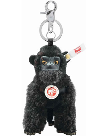 Steiff Schlüsselanhänger King Kong 12 cm Alpaka schwarz 355585