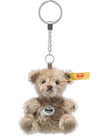 Steiff Porte-clés Ours miniature 8 cm mohair cannelle 040382