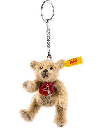 Steiff Schlüsselanhänger Teddybär Tiny 10 cm Mohair milchkaffee 039386