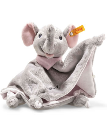 Steiff Doudou éléphant Trampili 28 cm gris/rose 241680