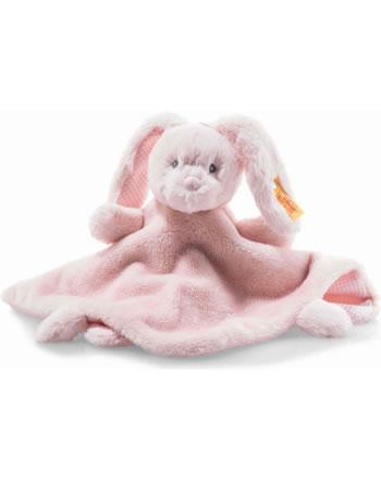 Steiff Schmusetuch Hase Belly 26 cm rosa 241901