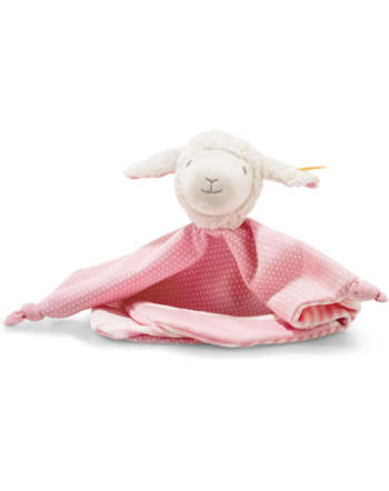 Steiff Doudou agneau Liena 28 cm blanc/rose 241949
