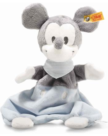 Steiff Schmusetuch Mickey Mouse 29 cm grau/blau/weiß 290169