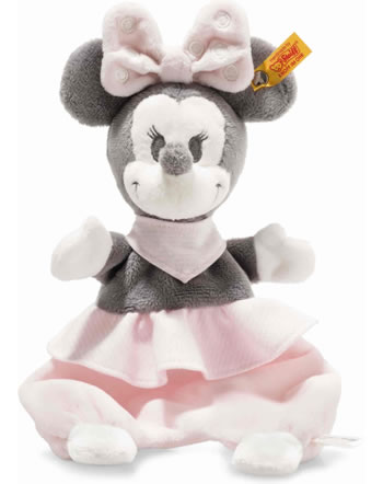Steiff Doudou Minnie Mouse 29 cm gris/rose/blanc 290176