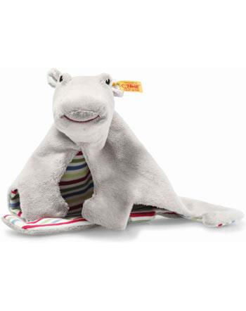 Steiff Doudou Hippopotame Torben 24 cm gris 242090