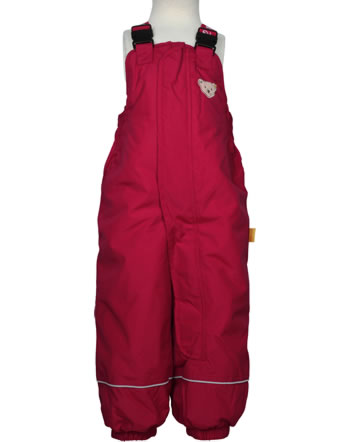 Steiff Snow pants with bib OUTDOOR tango red 1923717-4008