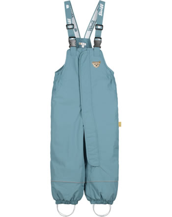 Steiff Snow pants with bib STEIFF TEC OUTERWEAR adriatic blue 2023707-6045