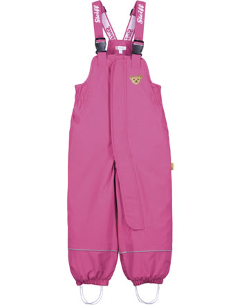 Steiff Snow pants with bib STEIFF TEC OUTERWEAR carmine 2023707-7046