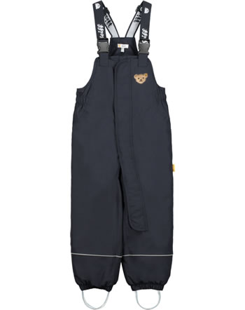 Steiff Snow pants with bib STEIFF TEC OUTERWEAR navy 2023707-3032