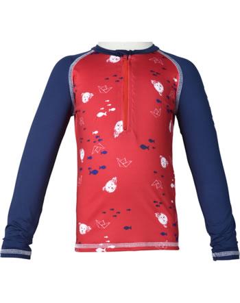 Steiff Swim shirt SWIMWEAR true red 2114614-4015