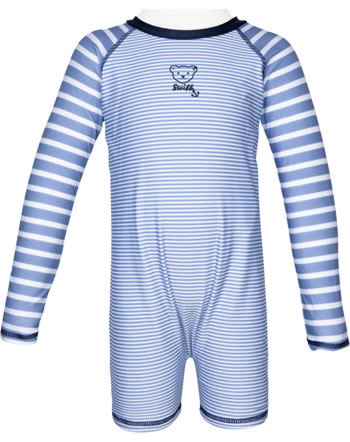 Steiff Schwimmanzug Badeoverall CRAB MEETS STRIPES forever blue 2014612-6027