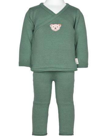 Steiff Set Hose + Sweatshirt ORGANIC LUCKY CHARM Baby sagebrush 2122622-5024