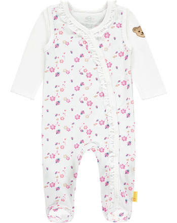Steiff Romper and shirt BUGS LIFE bright white 2111425-1000