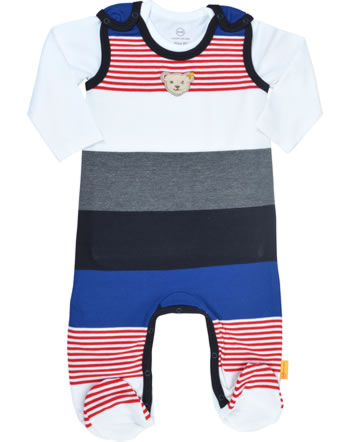 Steiff Romper and shirt FISH AND SHIP Baby Boys steiff navy 2112323-3032