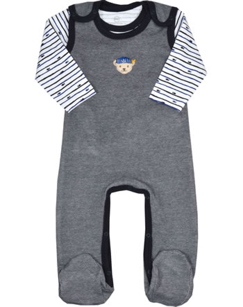 Steiff Romper and shirt FISH AND SHIP Baby Boys steiff navy 2112324-3032