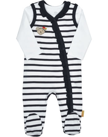 Steiff Romper and shirt MARINE AIR Baby Girls steiff navy 2112431-3032