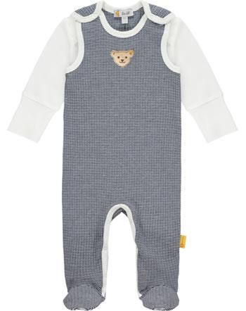Steiff Set Strampler und Shirt PAPER PLANE Baby Boys steiff navy 2122324-3032