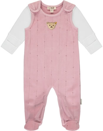 Steiff Romper and shirt RAINDROPS velour zephyr 2022508-3025 GOTS