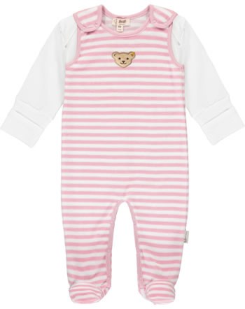 Steiff Romper and shirt RAINDROPS velour zephyr 2022520-3025 GOTS