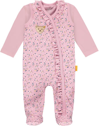 Steiff Set Strampler und Shirt SWEET HEART Baby Girls pink nectar 2121419-3035