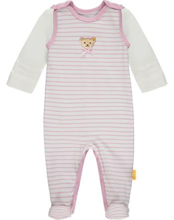 Steiff Set Strampler und Shirt SWEET HEART Baby Girls pink nectar 2121435-3035