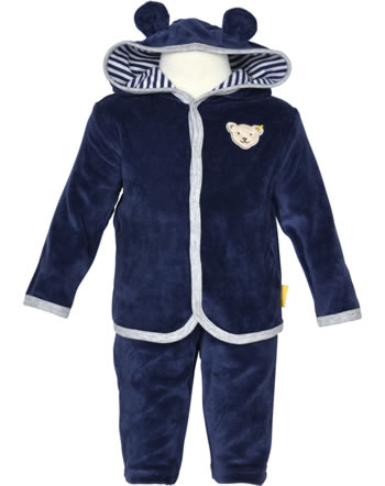 Steiff Set Sweatshirt und Hose COSY BLUE patriot blue 1921316-6033