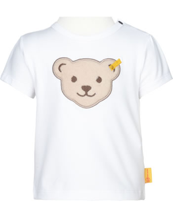 Steiff Shirt Kurzarm AHOI BABY bright white 2012241-1000