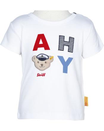 Steiff Shirt Kurzarm BEAR CREW bright white 2012138-1000