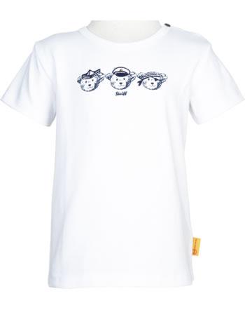 Steiff Shirt Kurzarm BEAR CREW bright white 2012145-1000