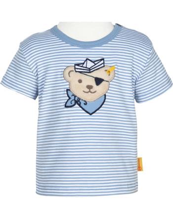 Steiff Shirt Kurzarm BEAR CREW STREIFEN forever blue 2012140-6027