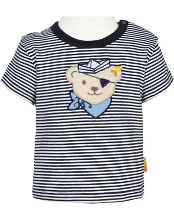 Steiff Shirt Kurzarm BEAR CREW STREIFEN steiff navy 2012140-3032