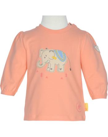 Steiff Shirt Langarm 140 JAHRE STEIFF peach amber 2015105-3031