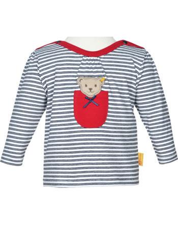 Steiff Shirt Langarm AHOI BABY STREIFEN steiff navy 2012240-3032