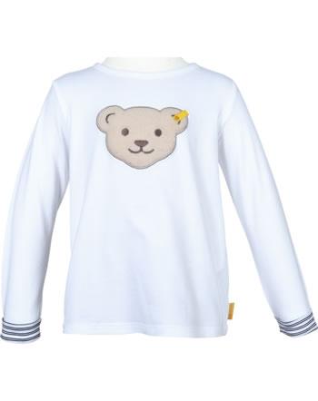 Steiff Shirt Langarm AHOI MINI! bright white 2012532-1000