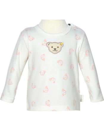 Steiff Shirt Langarm BABY GOTS UNISEX bridal rose 2112523-3030