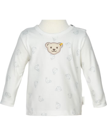 Steiff Shirt long sleeve BABY GOTS UNISEX gray dawn 2112523-6064